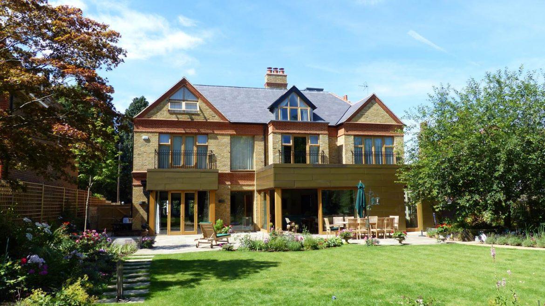 External shot of Highgate home with garden