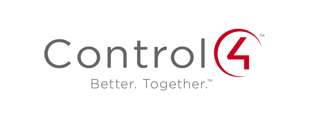Control4 Logo with tagline Better Together