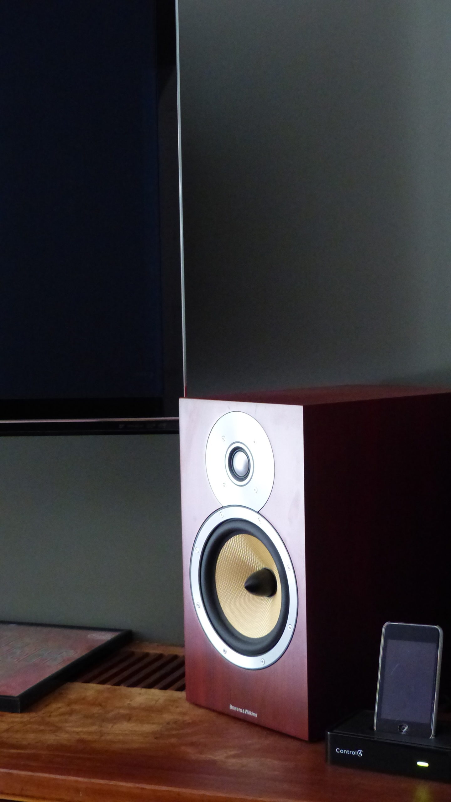 High end Bowers and Wilkons Speakers