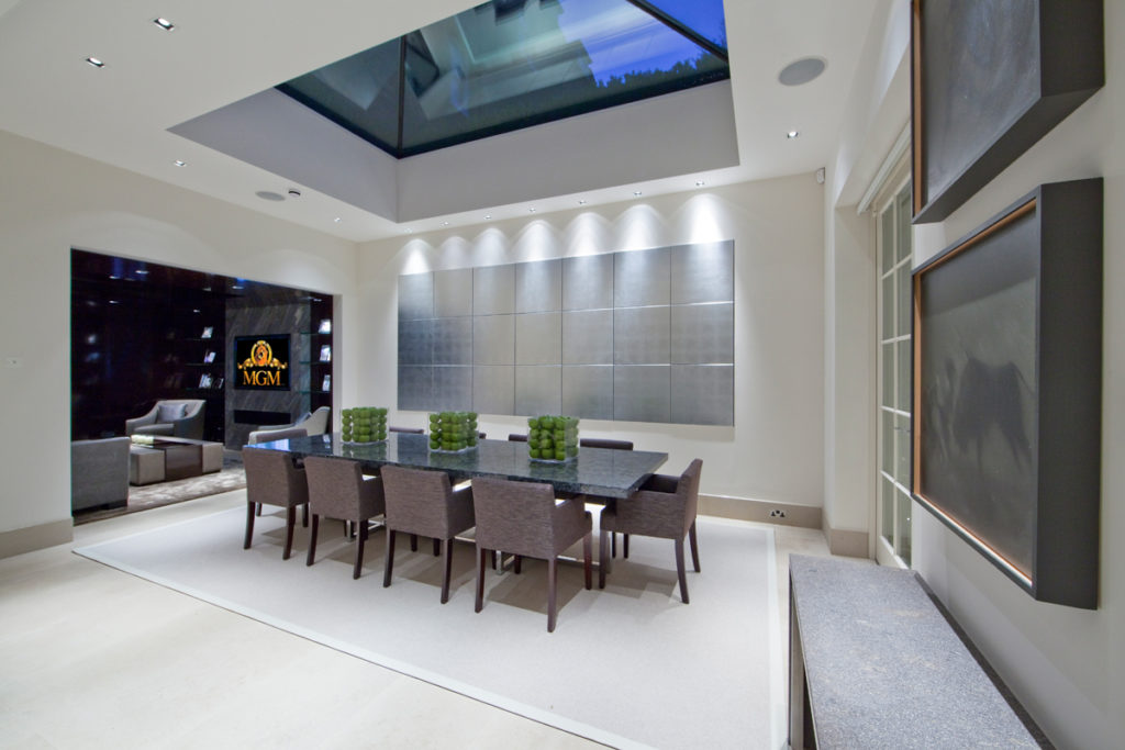 Dining table lighting design lutron lighting home automation