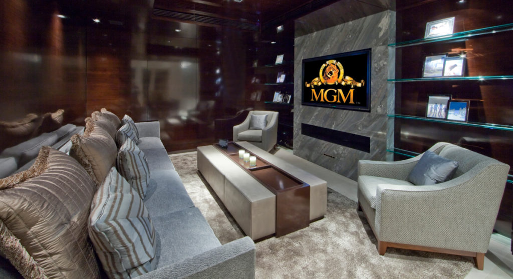 Family Home Theatre Room - Home Cinema Install London