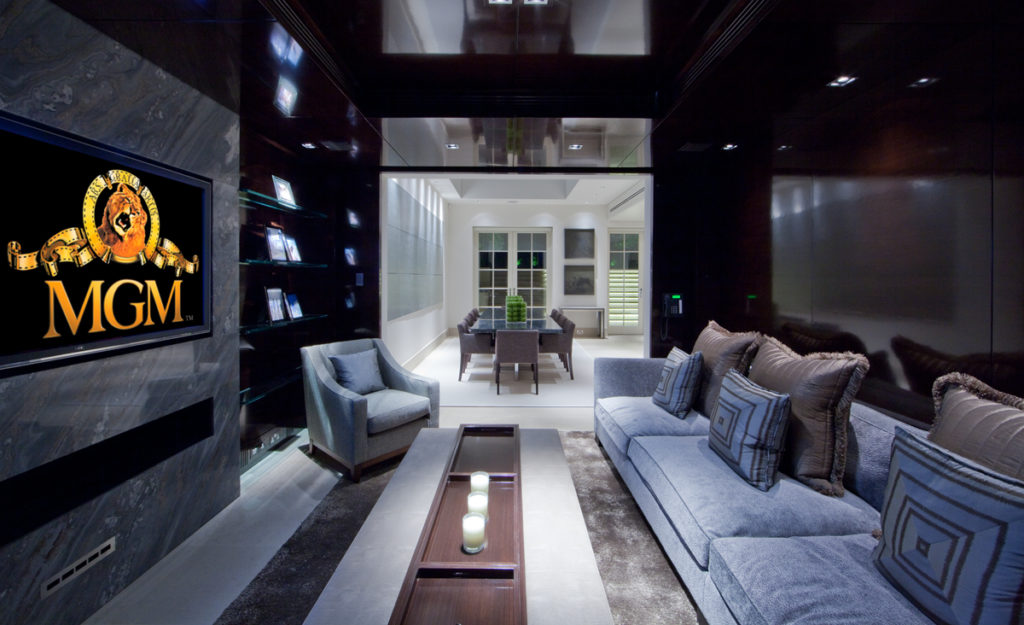 High end Media Room Install - Luxury Media Room design
