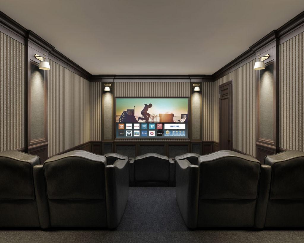 High end home cinema Install - Luxury home cinema design