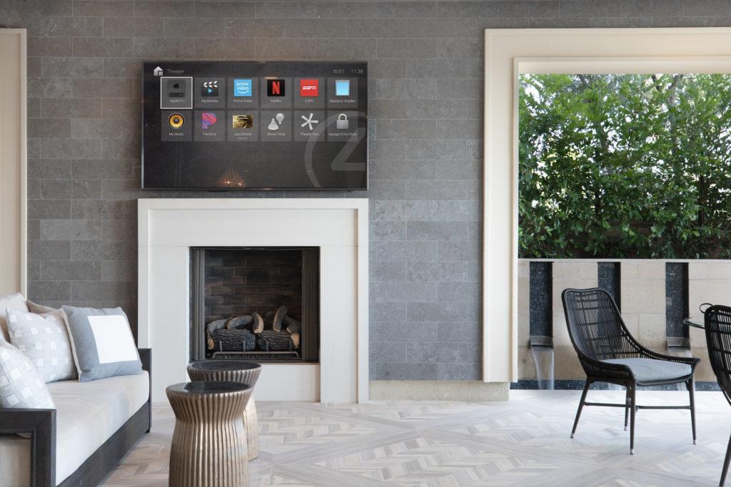 Smart Home Automation - Lutron Lighting and Control4 smart home Security Crestron Automated smart Home