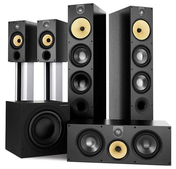 Bowers and Wilkins Speaker system luxury audio system