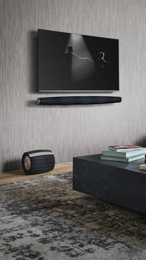 High End Luxury speakers Soundbar By Bowers and wilkons