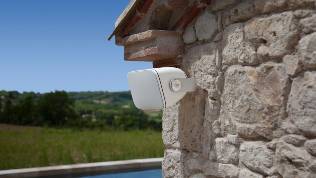 Luxury outdoor speakers by bowers and wilkons