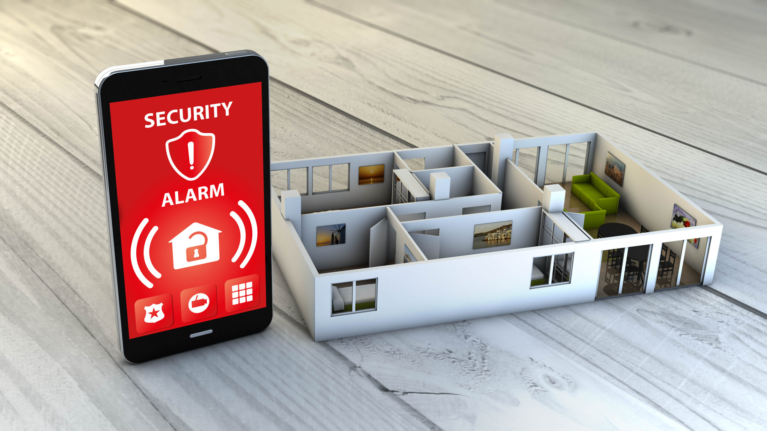 Smart Home Security installed by MDfx Select in West London and Greater London