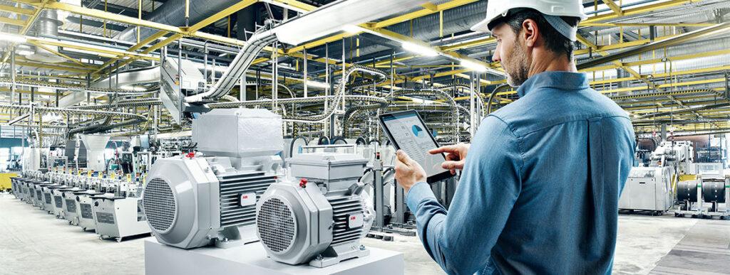 sensor based motors for commercial building technology - smart buildings - sustainable buildings