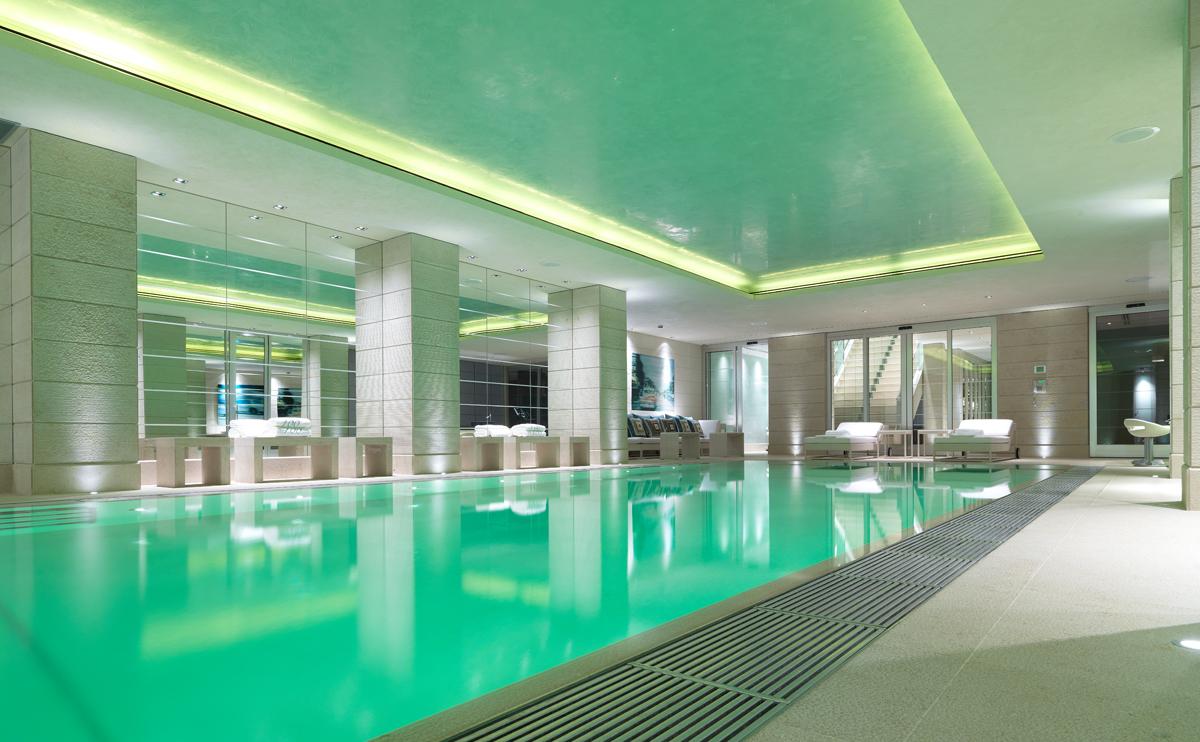 Luxury Hotel spa lighting installer