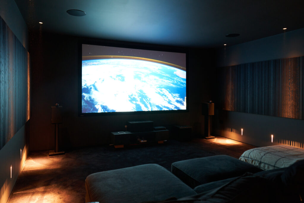 Luxury home cinema design and install